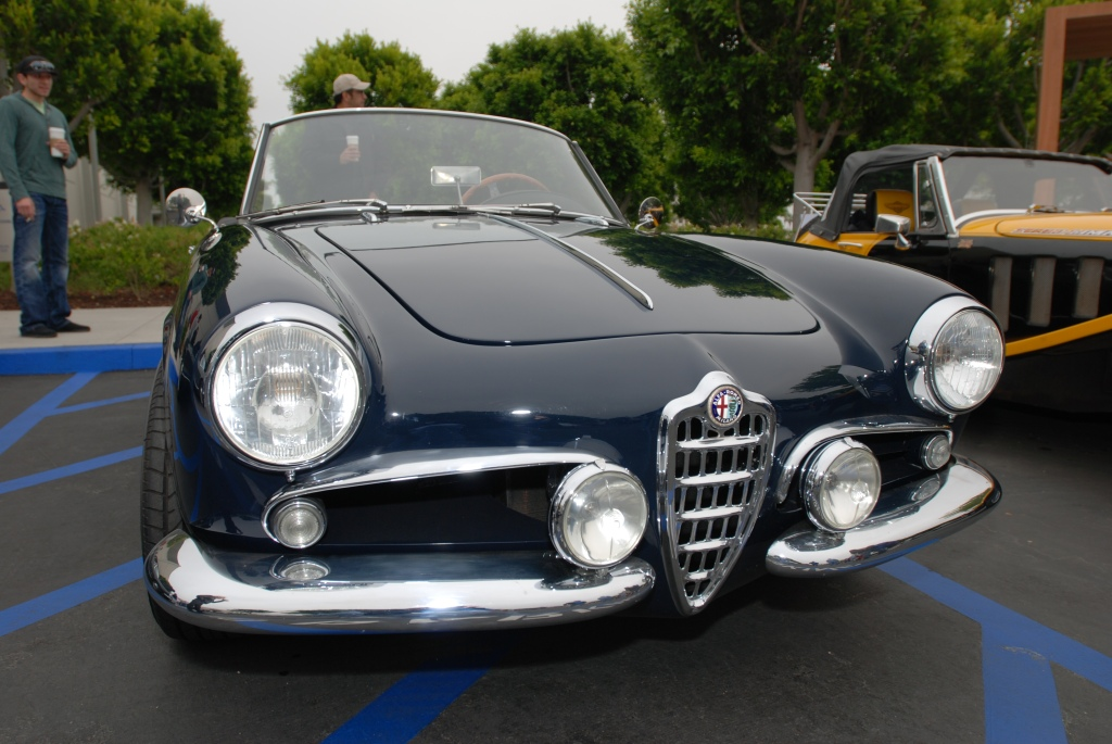 Dark blue Alfa Romeo roadster_Cars&Coffee/Irvine_2011