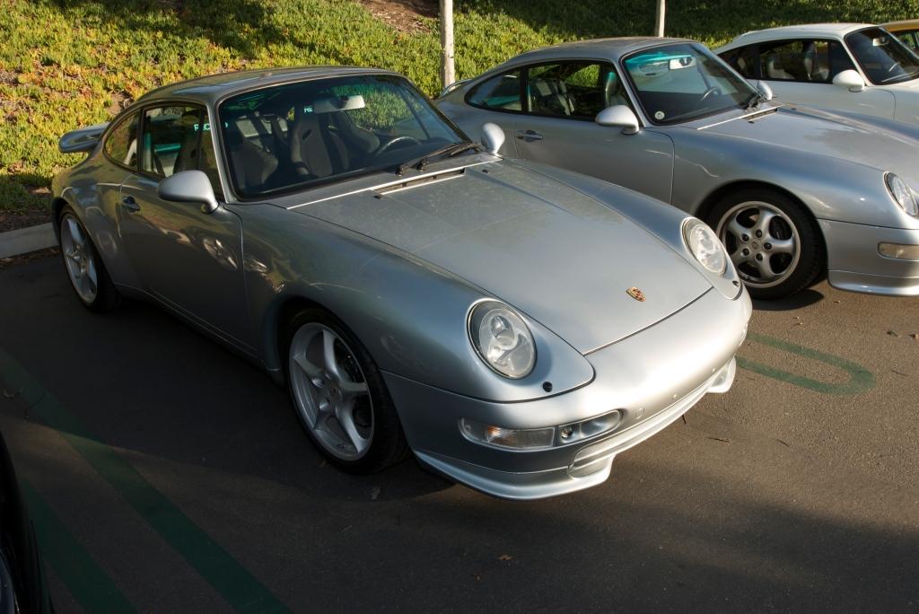 Porsche 993's_Cars&Coffee / Irvine_12/3/11