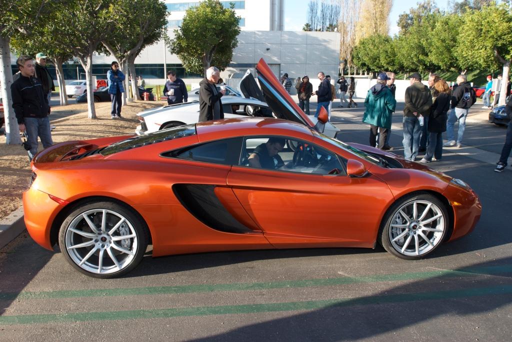 McLaren MP4-12C & Lamborghini Aventador_Cars&Coffee/Irvine_12/17/11