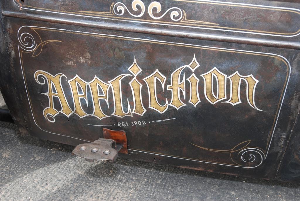 Rat rod door graphic_Affliction_ Cars&Coffee/Irvine_2011