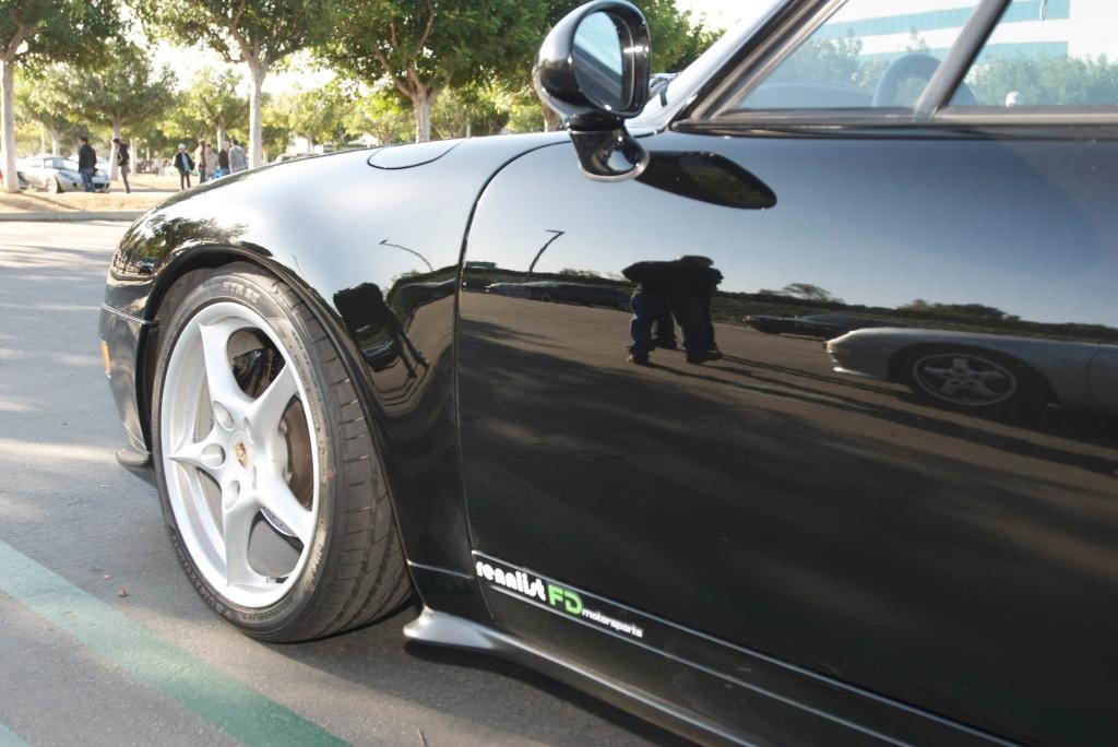 Black Porsche 993_Cars&Coffee / Irvine_12/3/11