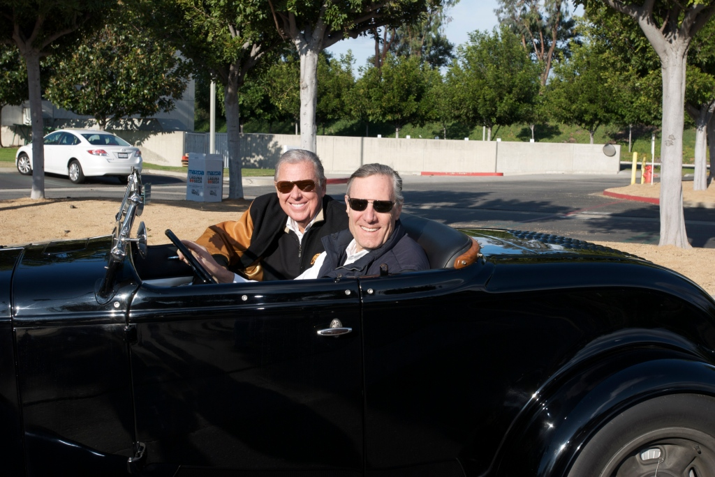 Bruce Meyer & Barry Meguiar_Cars&Coffee/Irvine_12/17/11