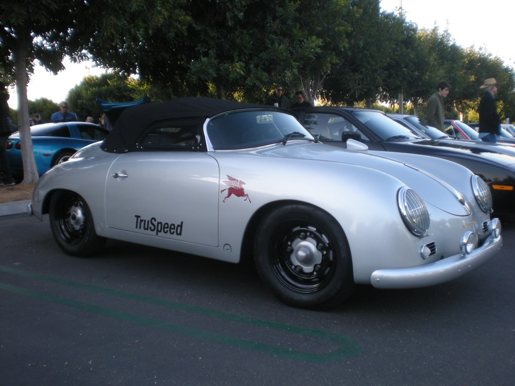silver Truspeed speedster_Cars&Coffee/Irvine_12/10/11