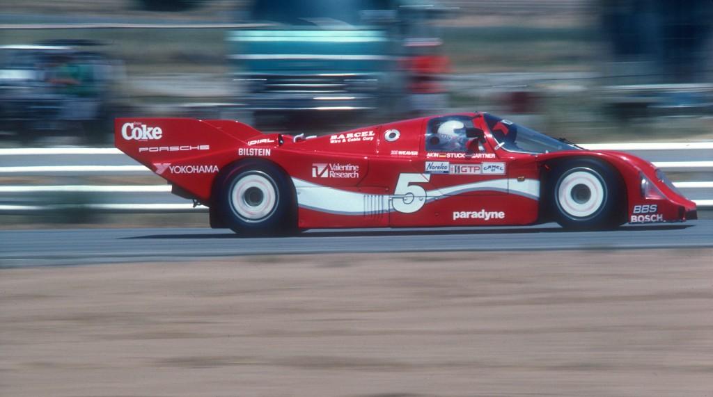 Bob Akin #5 Coca Cola Porsche 962_Riverside Raceway_Apr 86