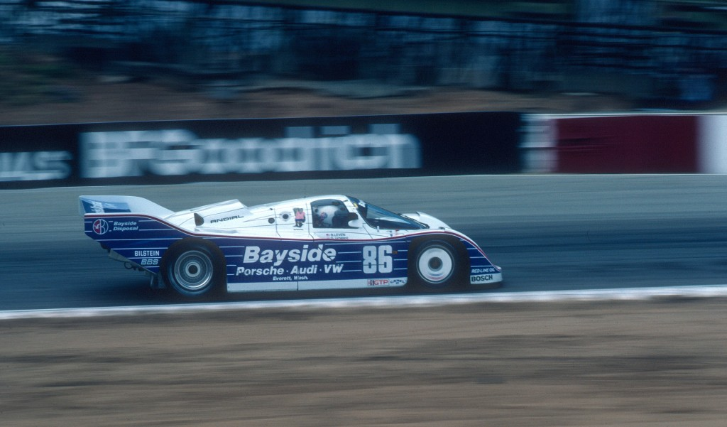 Bruce Levan #86_Bayside Porsche 962_Riverside Raceway_Apr 87