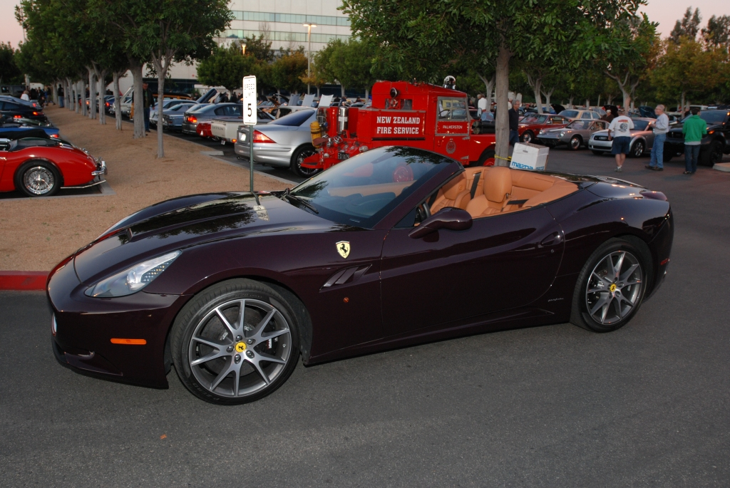 Ferrari California_Cars&Coffee/Irvine_1/28/12