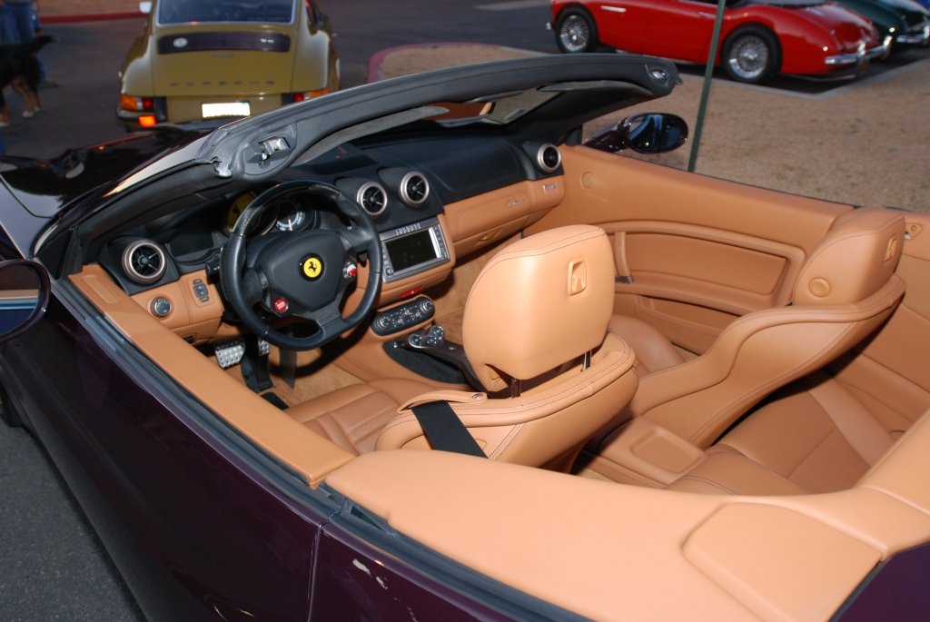 Ferrari California_Interior_Cars&Coffee/Irvine_1/28/12