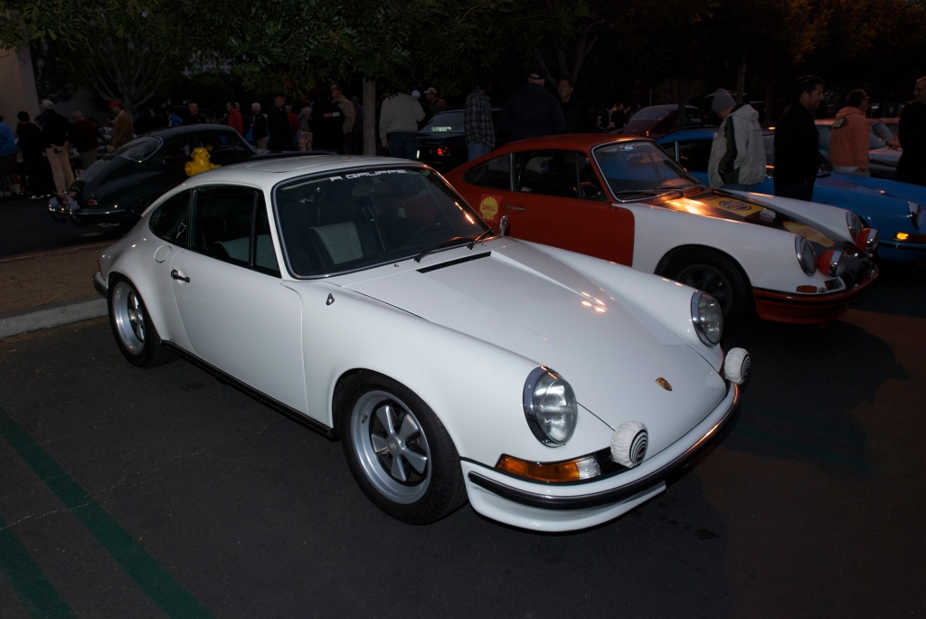 1972 Grand prix White Porsche 911 GT_Rgruppe award winner_Cars&Coffee/Irvine_1/7/12