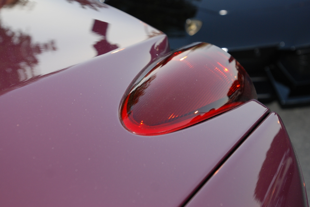 Ferrari California_Tail light_Cars&Coffee/Irvine_1/28/12