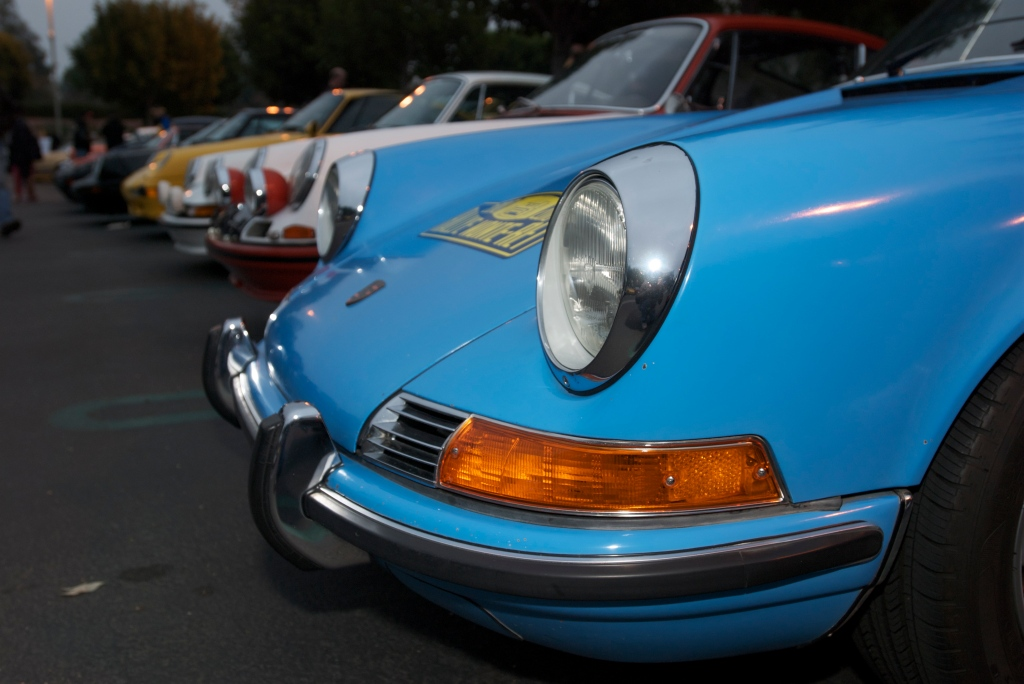 Blue Porsche 911_Rgruppe_Porsche row_Cars&Coffee/Irvine_1/7/12