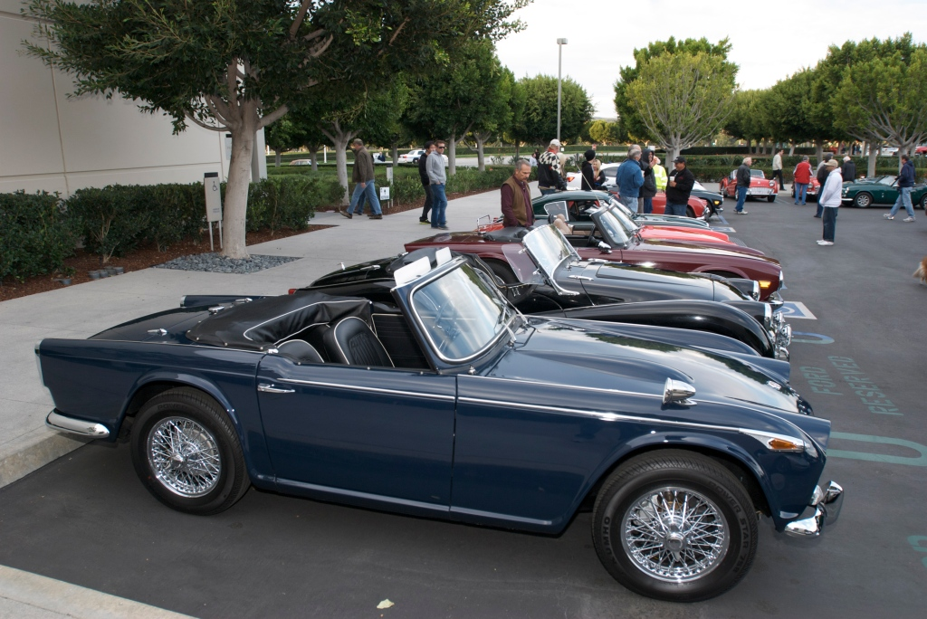 Triumph sports cars_Cars&Coffee/Irvine_1/14/12