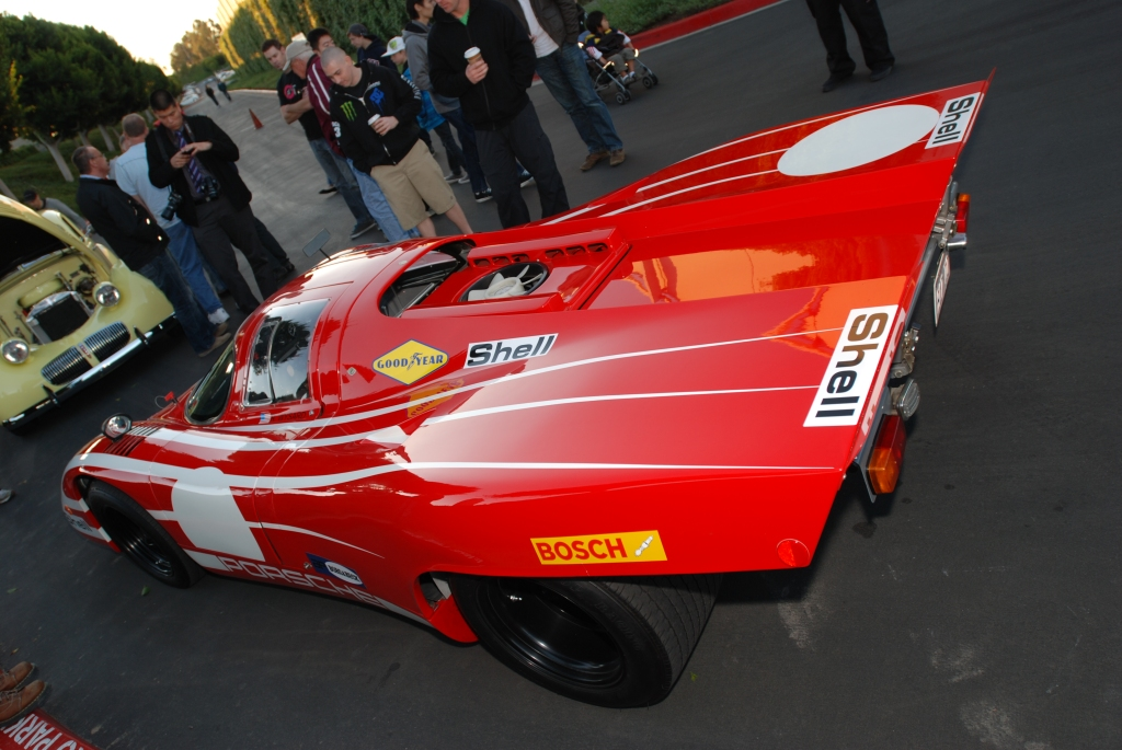 Porsche Salzburg 917 short tail recreation_Cars&Coffee/Irvine_1/28/12