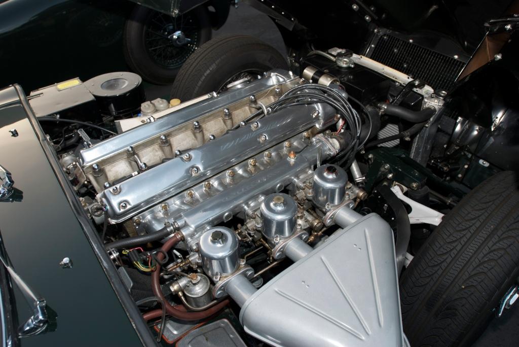 Jaguar E type coupe_4.2 liter motor_Cars&Coffee/Irvine_12/31/11