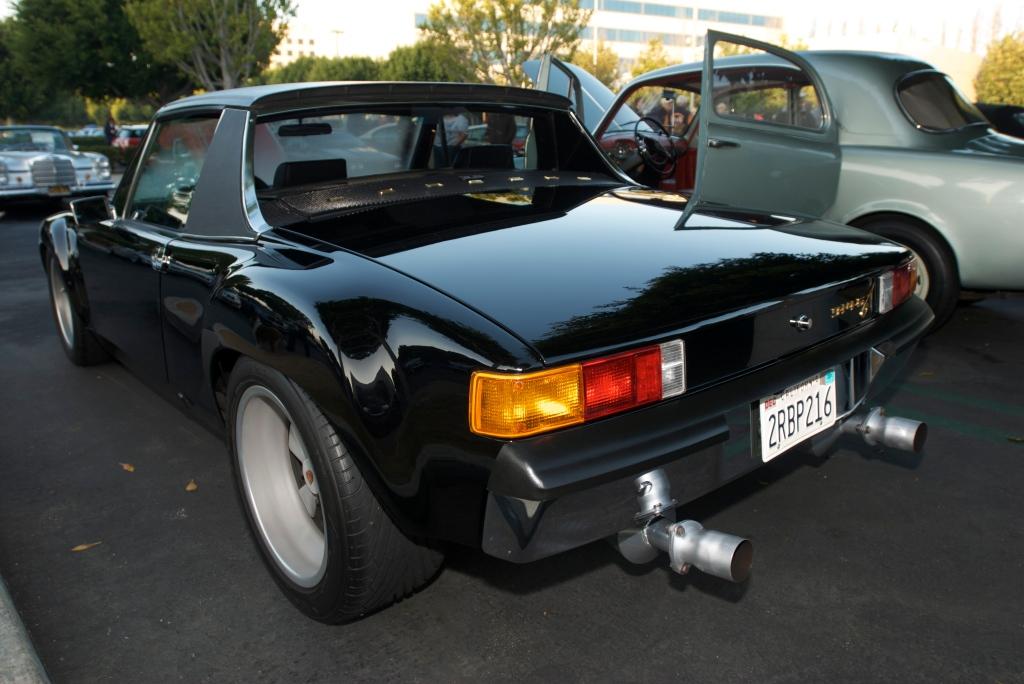 Black Porsche 914-6 GT_Cars&Coffee/Irvine_12/31/11