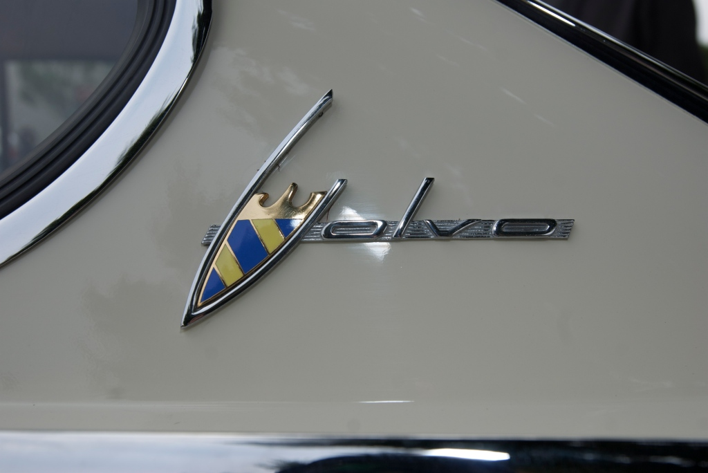 Volvo 1800 C pillar badge_CArs&Coffee/Irvine_1/7/12