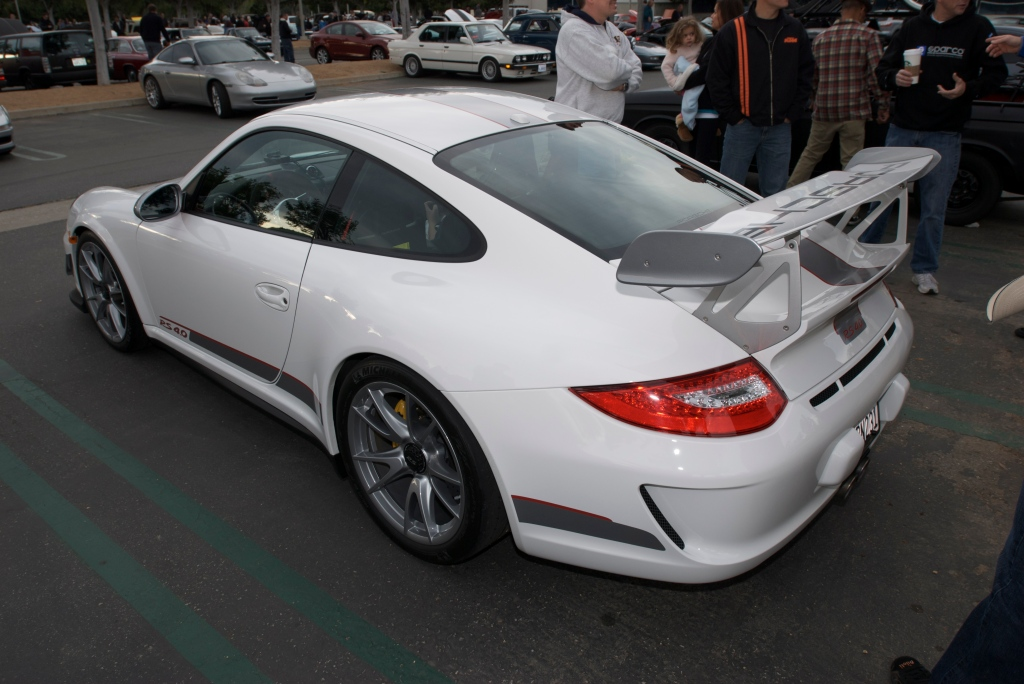 White 2011 Porsche GT3 RS4.0_Cars&Coffee/Irvine_1/14/12