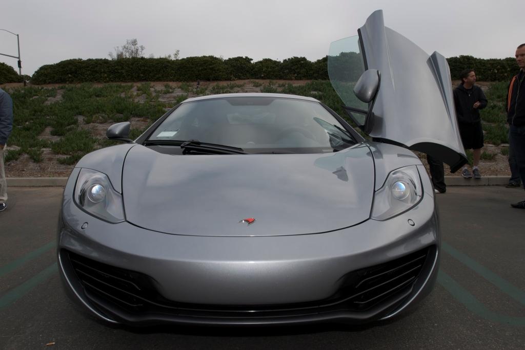 """McLaren Silver"" McLaren MP4-12C_Cars&Coffee/Irvine_1/7/12"