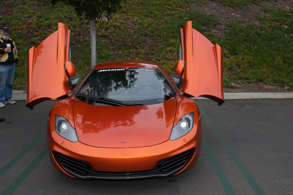 Volcano Orange McLaren MP4-12C_Cars&Coffee/Irvine_1/7/12