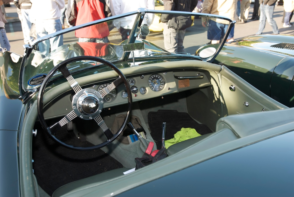 Jaguar XK roadster_interior_Cars&Coffee/Irvine_12/31/11