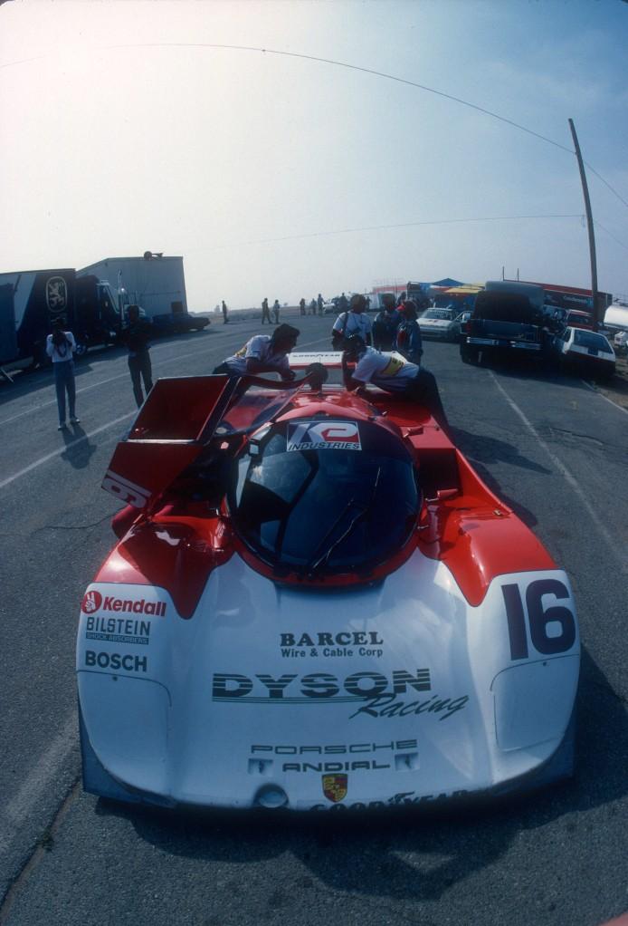 Dyson Racing #16_ Porsche 962_Riverside Raceway_Apr 87