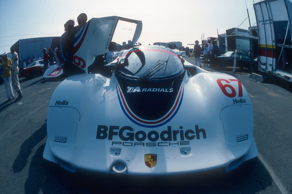Jim Busby Racing #67_BFG Porsche 962_Riverside Raceway_Apr 87