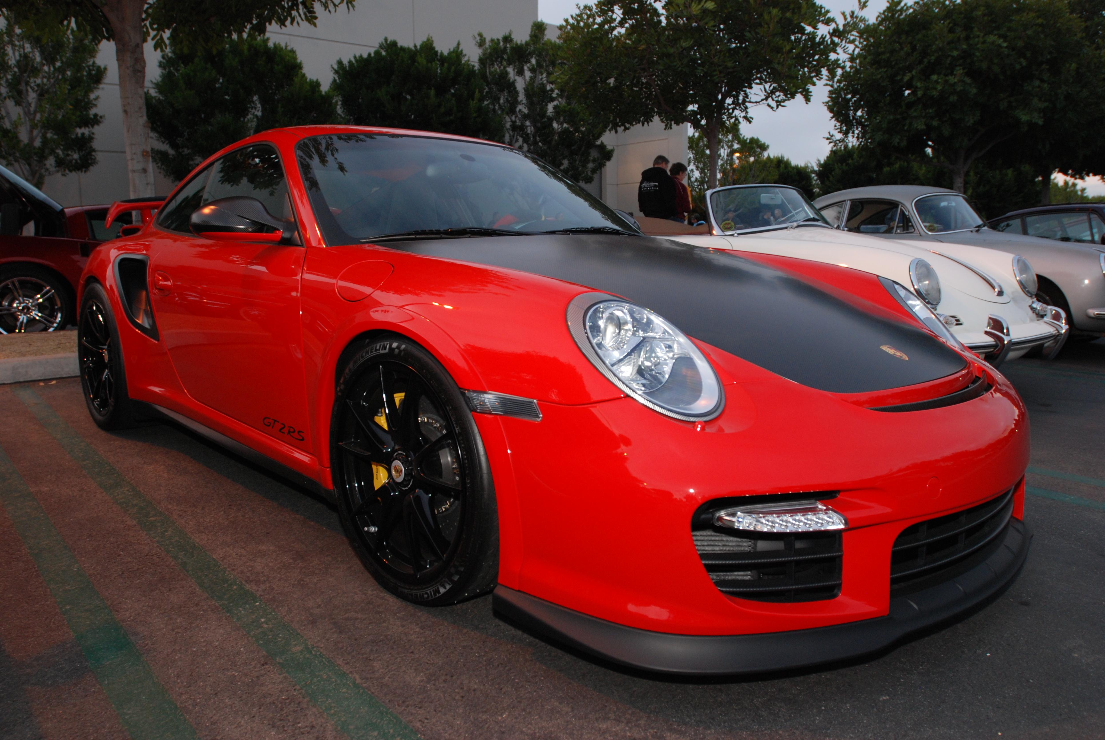 Red Porsche Car Red 2011 Porsche 911