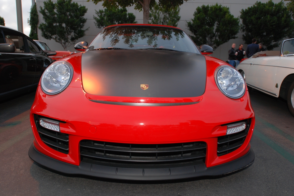 Red 2011 Porsche 911 GT2RS_Cars&Coffee/Irvine_2/18/12