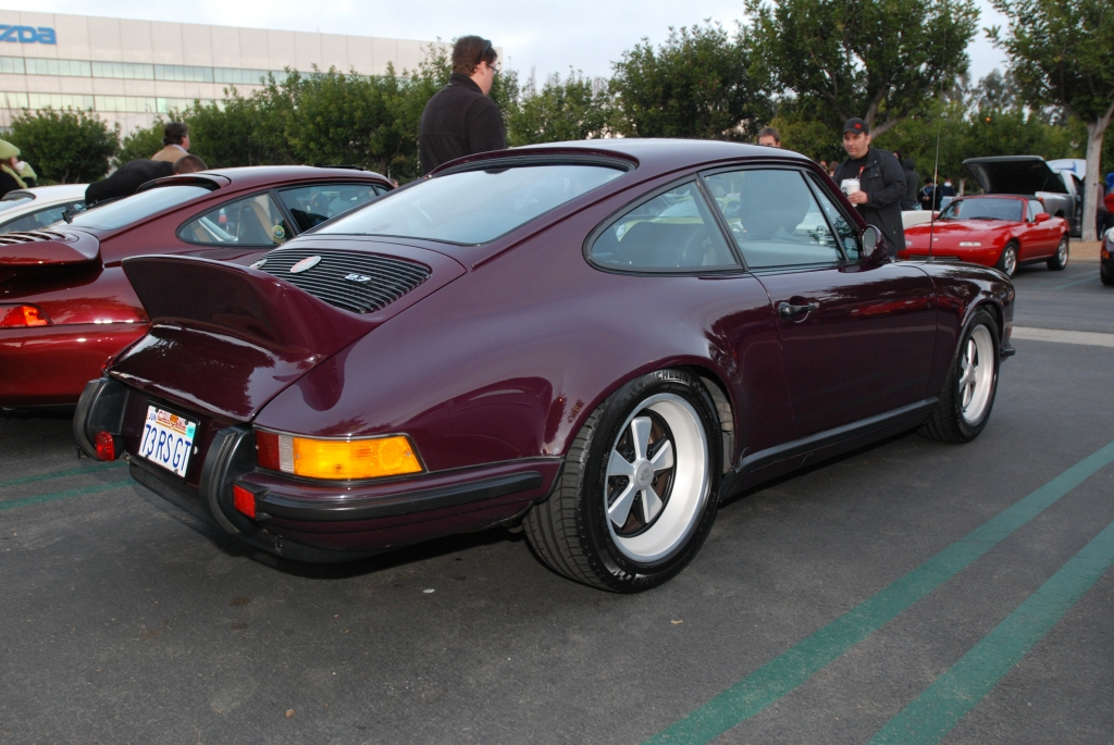 Aubergine 1973 Porsche 911RS recreation_Cars&Coffee/Irvine_2/18/12