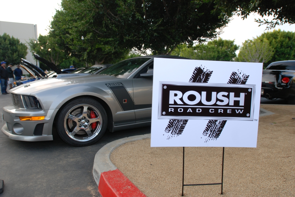 Roush mustang car club gathering_Cars&Coffee/Irvine_2/18/12