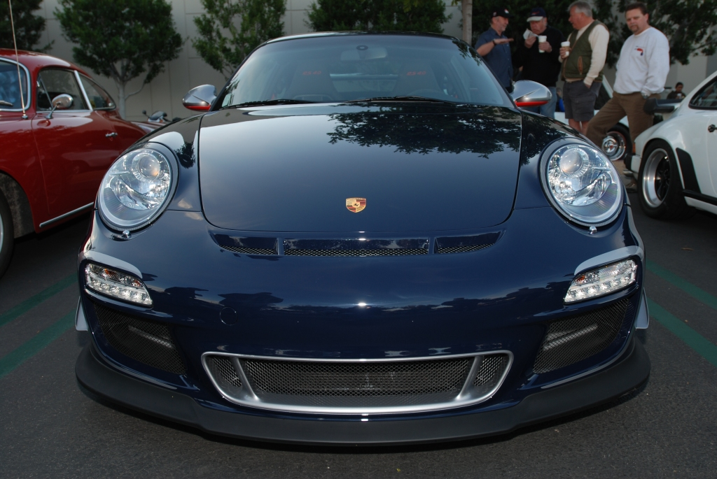 Dark blue 2011 Porsche GT3 RS4.0_Cars&Coffee/Irvine_2/4/12