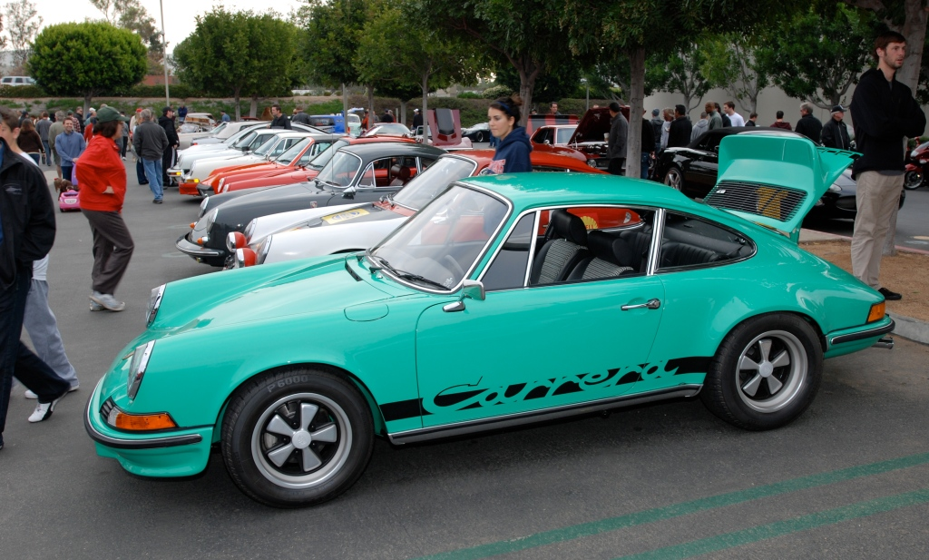 1973 Porsche Carrera RS_Cars&Coffee/Irvine_2/25/12