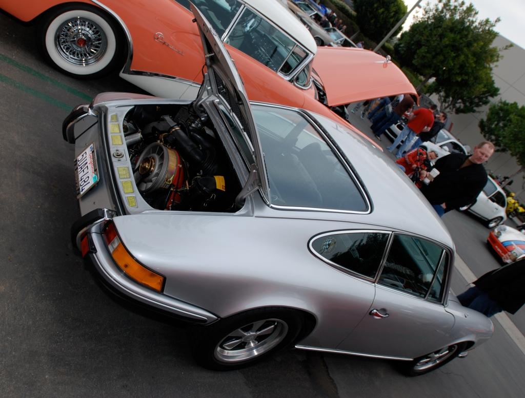 """Silver """"Sonauto Porsche 911S_Cars&Coffee/Irvine_2/25/12"""