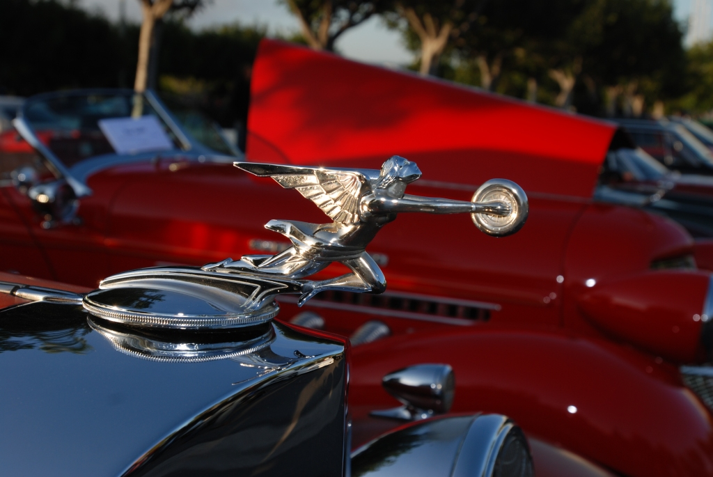 Hood ornament_Cars&Coffee/Irvine_2/18/12
