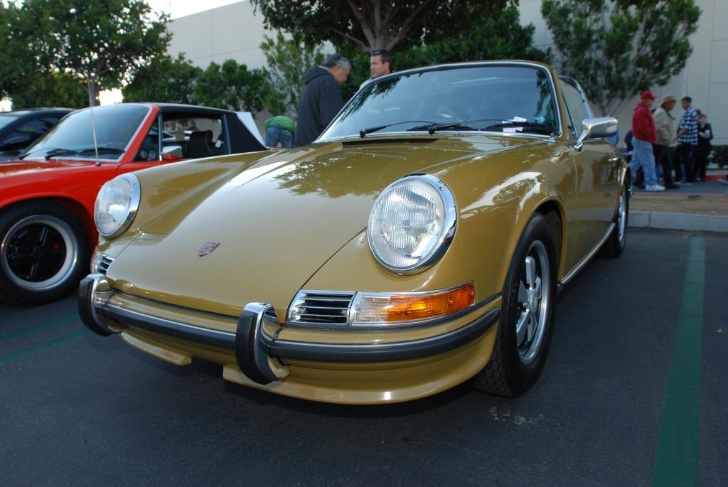 Porsche 911S targa_Cars&Coffee/Irvine_2/4/12
