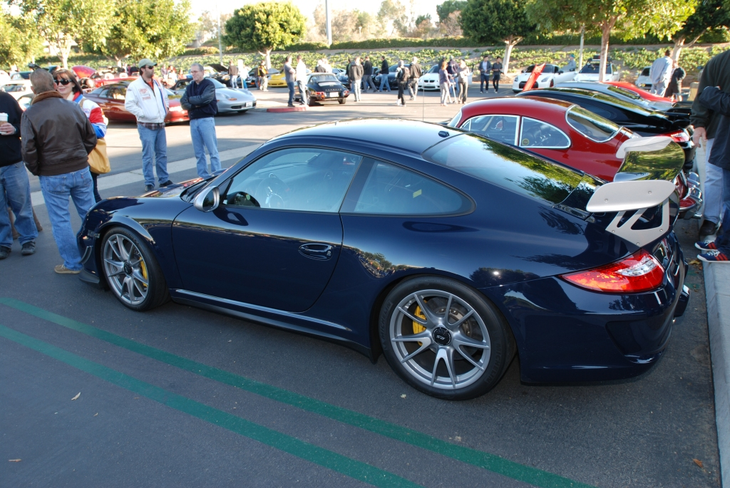 Dark blue 2011 Porsche GT3 RS4.0_ reflections_Cars&Coffee/Irvine_2/4/12