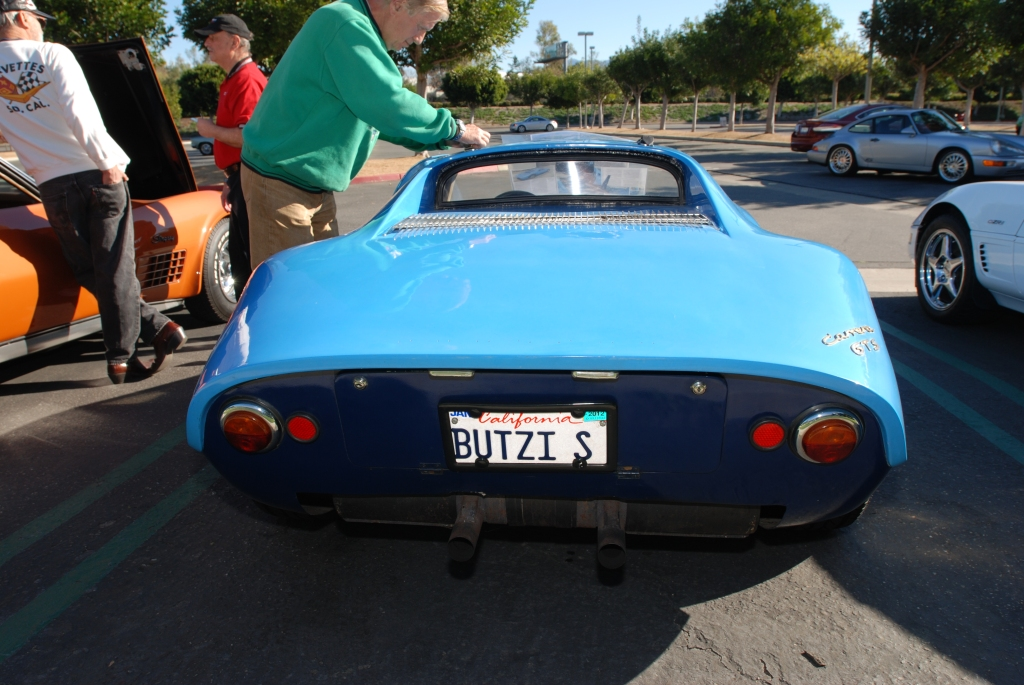 Blue 1964 Porsche 904 GTS_#904-002_rear shot_Cars&Coffee/Irvine_2/4/12