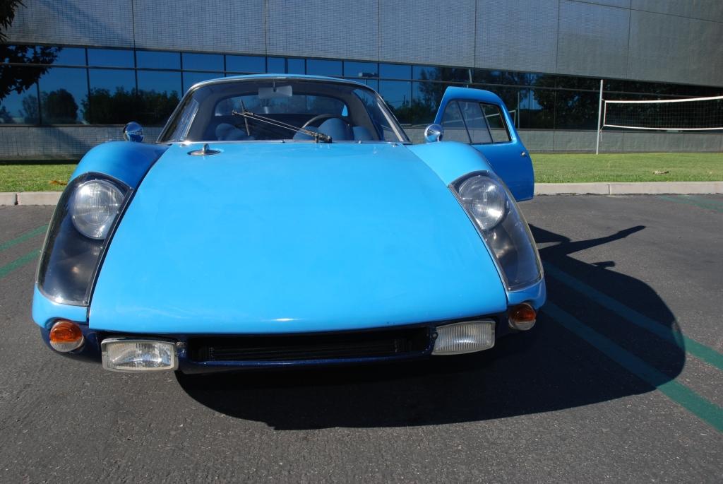 Blue 1964 Porsche 904 GTS_ #904-002_front shot_Cars&Coffee/Irvine_2/4/12