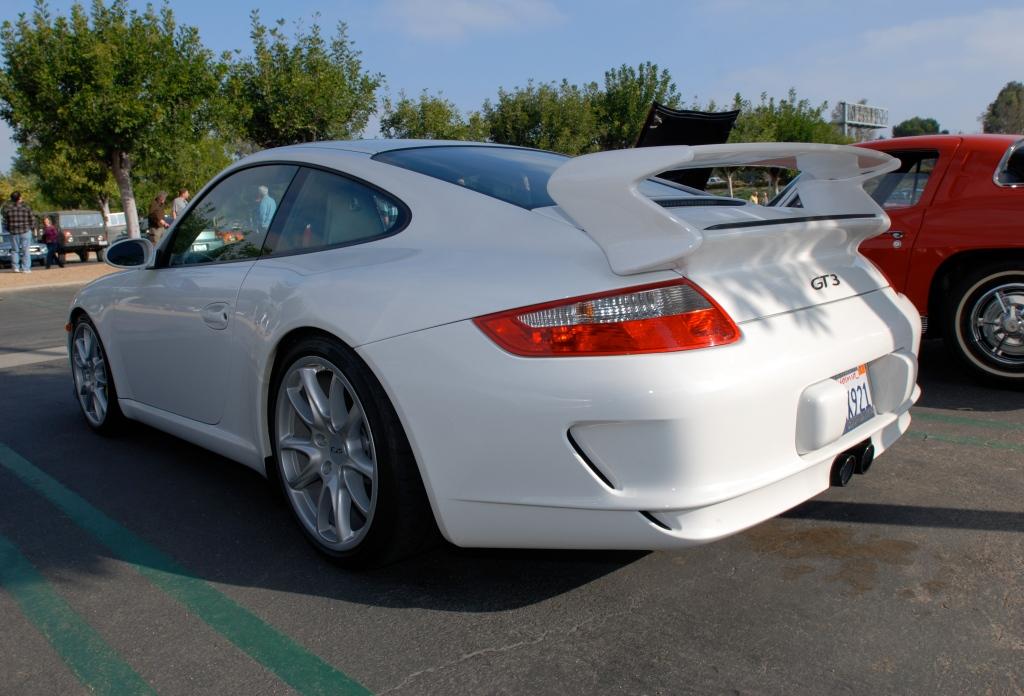White 2010 Porsche GT3_Cars&Coffee/Irvine_2/25/12