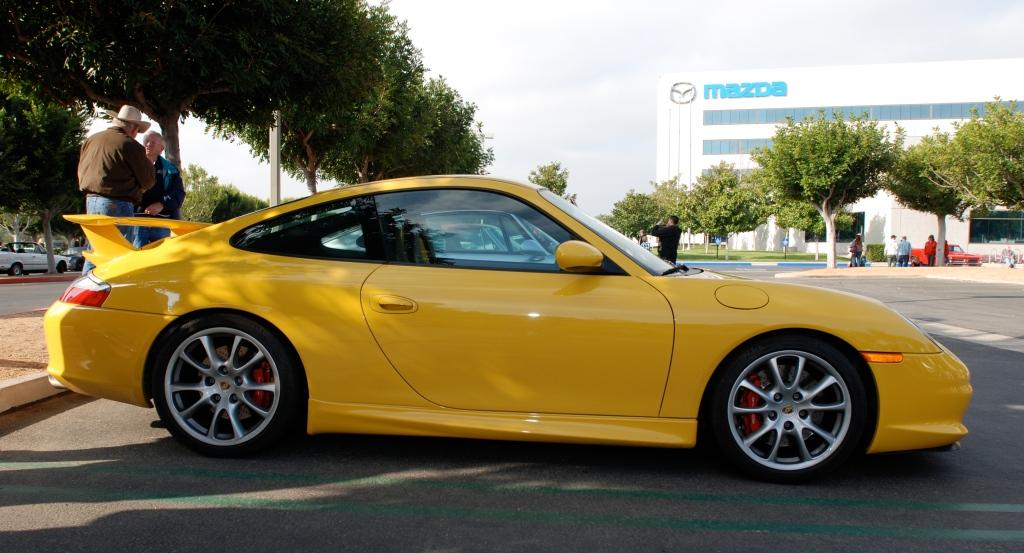 Yellow 2004 Porsche GT3_Cars&Coffee/Irvine_2/25/12