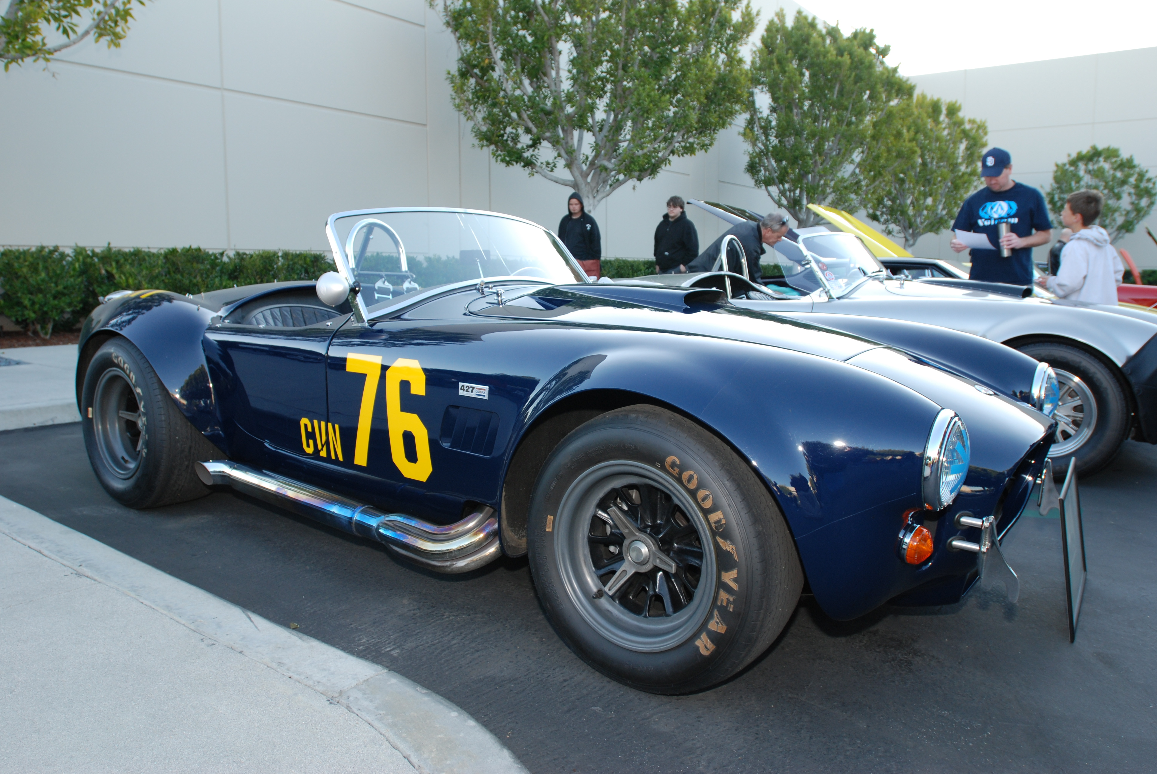 "Cobra Movie Car: Of Ford GT's And The €�Gumball Rally"" 427 Shelby Cobra"
