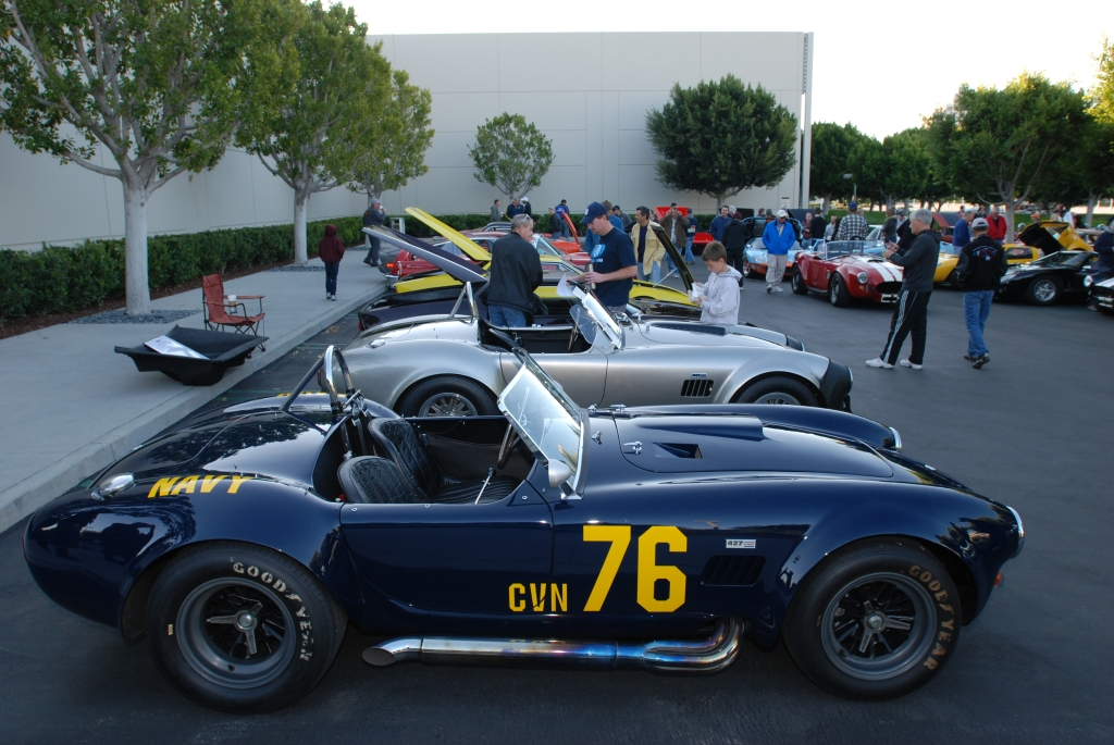 1966 427 Shelby Cobra_Guardsman Blue_Gumball Rally movie car_Cars&Coffee/Irvine_3/3/12