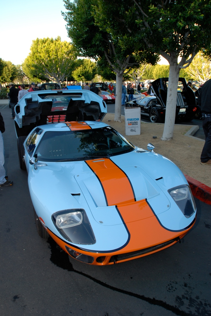 A second Gulf colored Ford GT_Cars&Coffee/Irvine_3/3/12