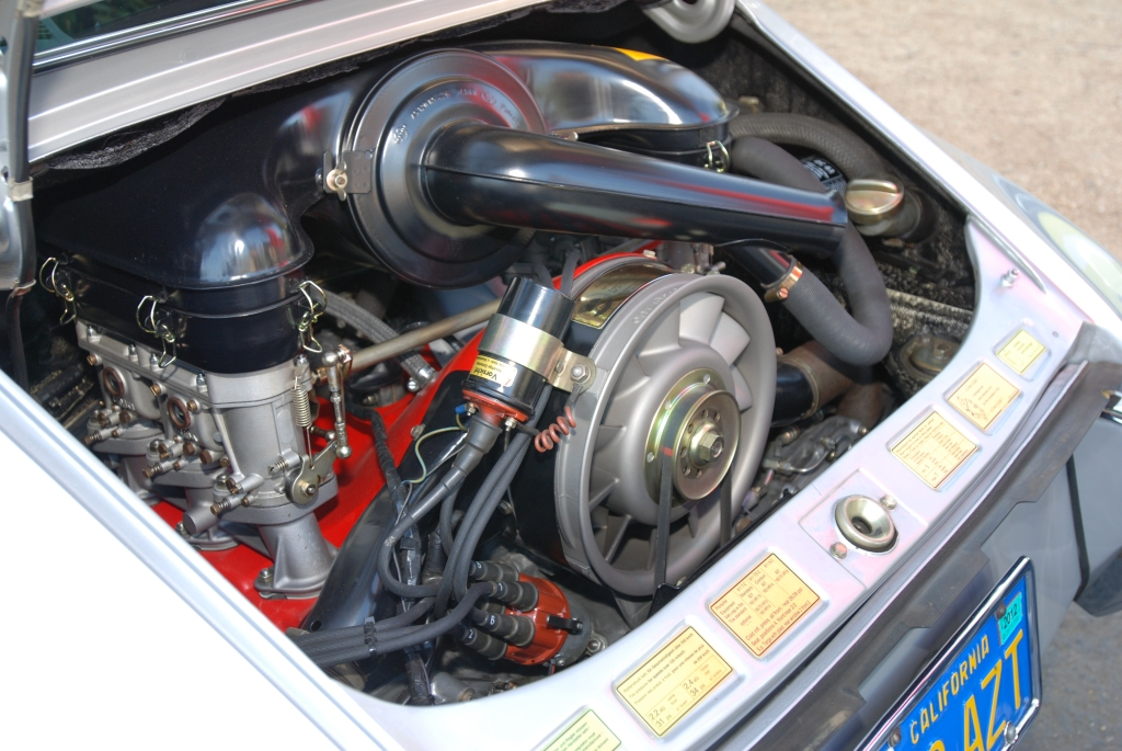 Silver Porsche 911 coupe_motor_Cars&Coffee/Irvine_3/10/12