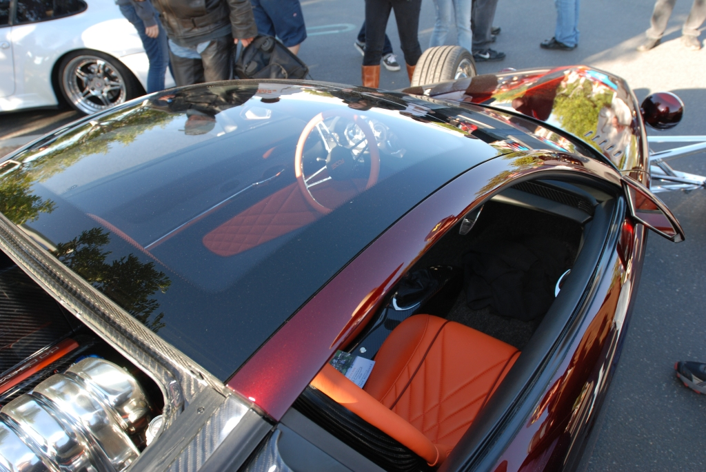 Chip Foose_HemiSFear_ glass roof & reflections_Cars&Coffee/Irvine_3/10/12