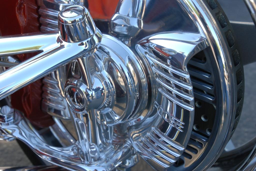 Chip Foose_HemiSFear_ front suspension components_Cars&Coffee/Irvine_3/10/12