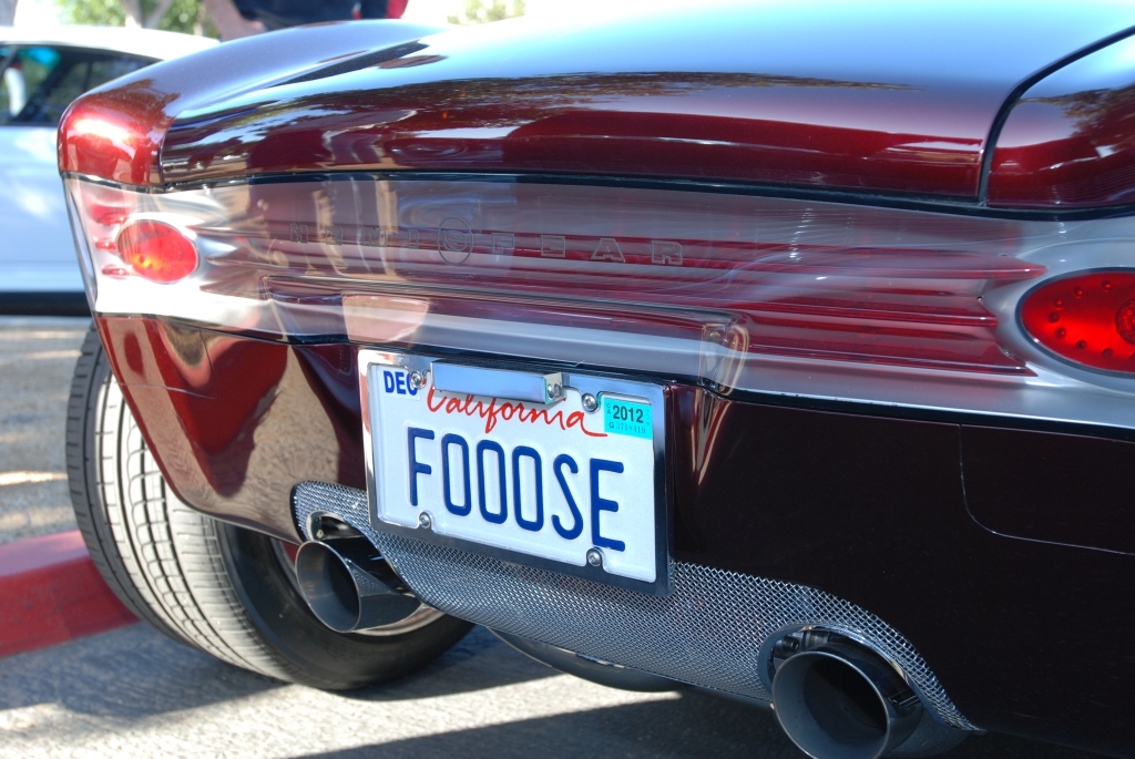 Chip Foose_HemiSFear_rear view& reflections_Cars&Coffee/Irvine_3/10/12