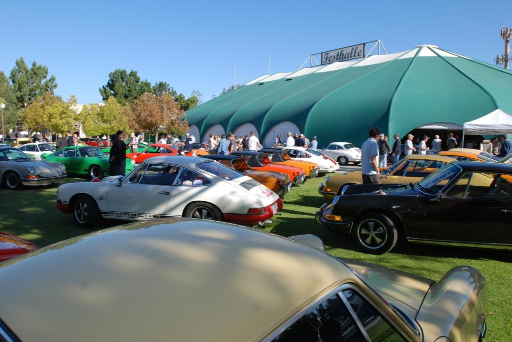 Car club display parking_all Porsche swap & car display_3/4/12