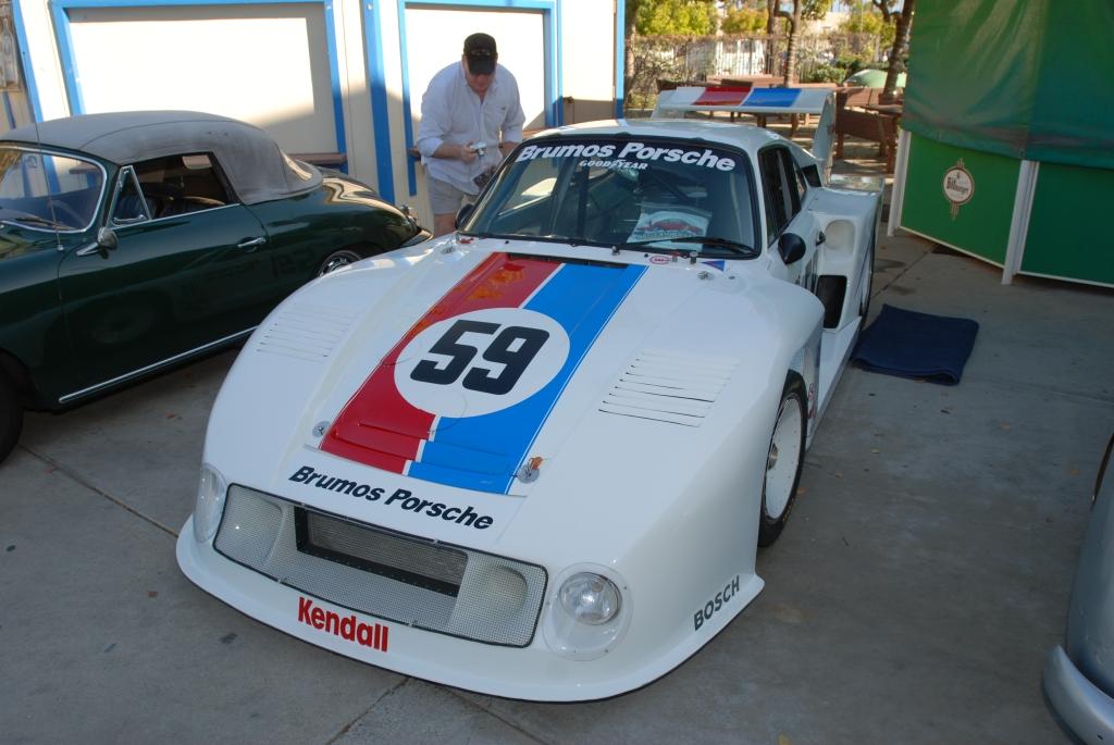 White, Pelican Parts / Brumos Porsche 935_ front view_all Porsche swap & car display_3/4/12
