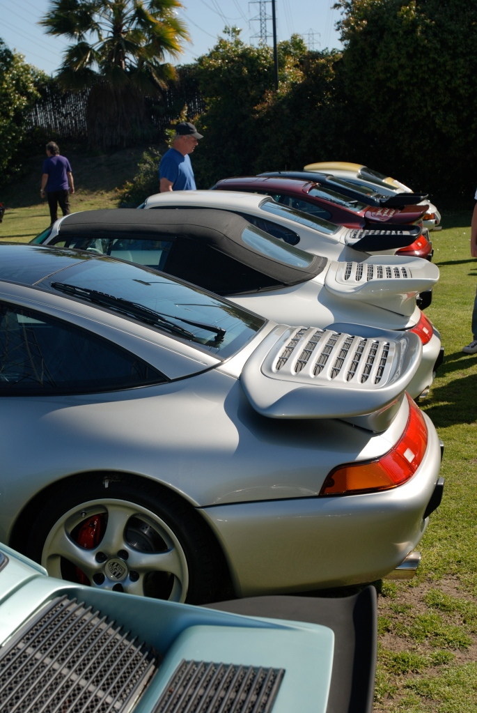 Porsche rear wings _all Porsche swap & car display_3/4/12