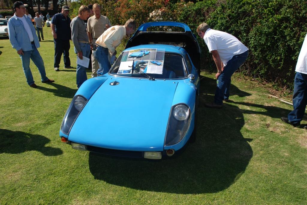 Blue 1964 Porsche 904 GTS Carrera_front view _all Porsche swap & car display_3/4/12